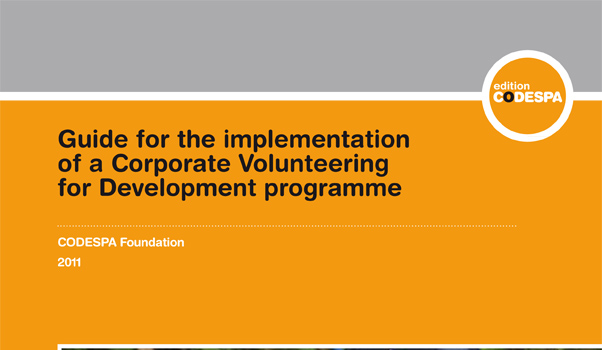 Guide for the implementation of a Corporate Volunteering for Development programme
