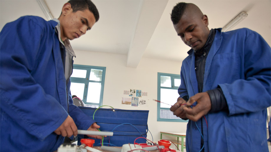 A future without exclusion for young people, generating opportunities thanks to training