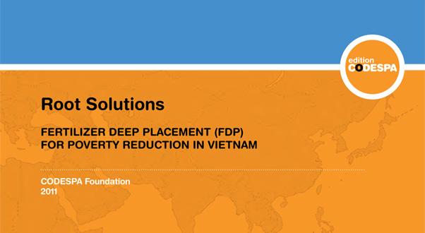Fertilizer Deep Placement (FDP) for poverty reduction in Vietnam
