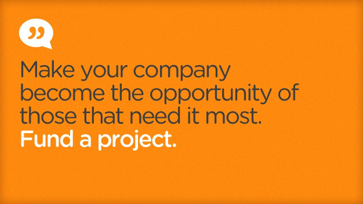 Fund a project