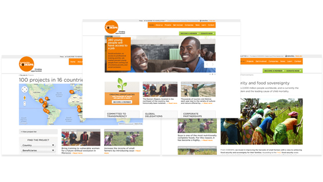 Launching the English version of our web site