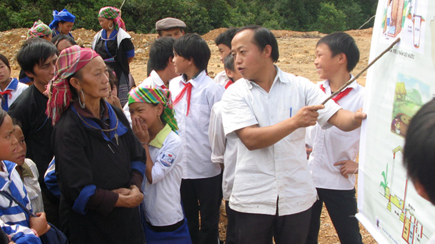 The incidence of diarrhea decreases 42% among 12.000 households in Vietnam