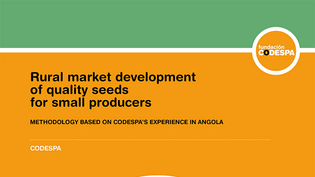 Rural market developmentof quality seeds for small producers
